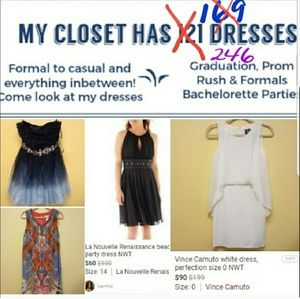 425 now! Love dresses...me too!  I have ALL sizes